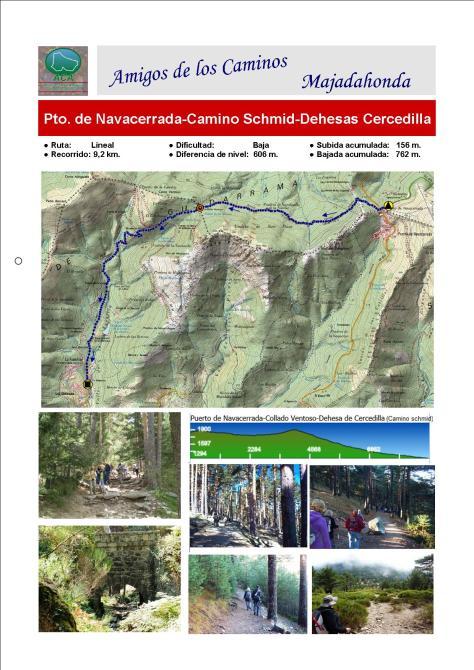 Pt. de Navacerrada-Smchid-Dehesas.Plano